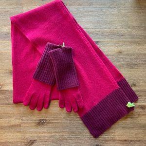 Kenneth Cole Scarf & Gloves Set